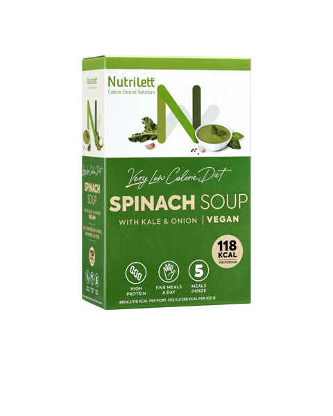 VLCD Spinach Soup