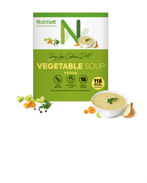 VLCD Creamy Vegetable Soup (15 pack)